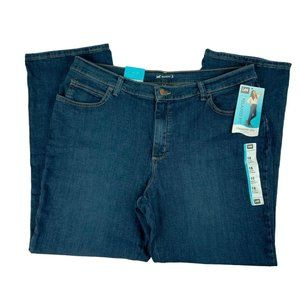 NWT Lee Jeans Size 16 Short Straight Leg Relaxed